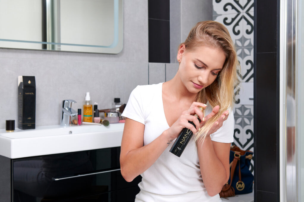 NANOIL - jedyny olejek dopasowany do porowatości włosów