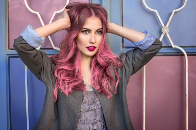 farbowane włosy- jak utrwalić kolor