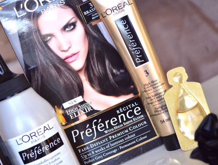 Refleksy z L'Oreal Casting Sunkiss Jelly i L'Oreal Recital Preference