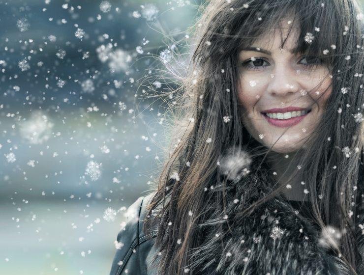jak dbać zimą o włosy?