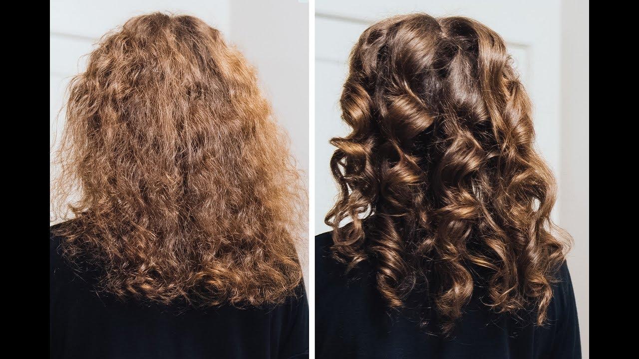 fryzury dla puszących się włosów
