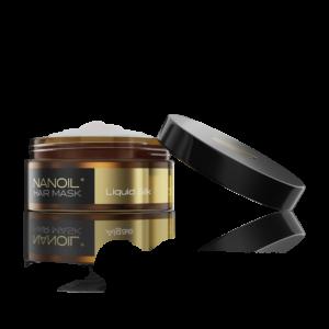 maska do włosów nanoil z płynnym jedwabiem